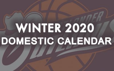 Winter Domestic 2020 Calendar