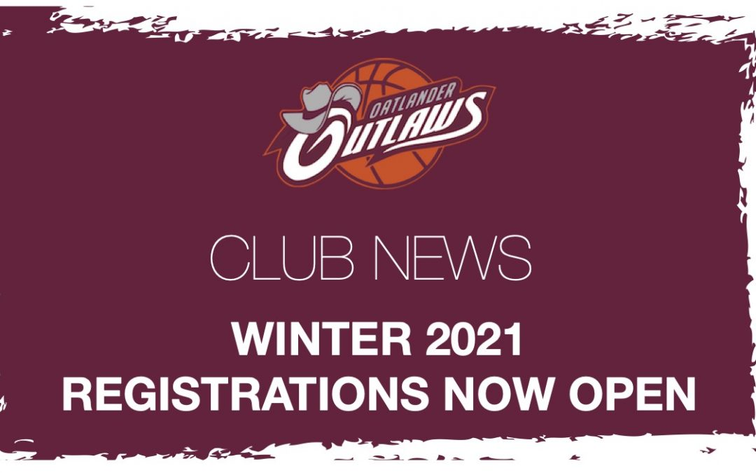 Registrations for Winter 2021