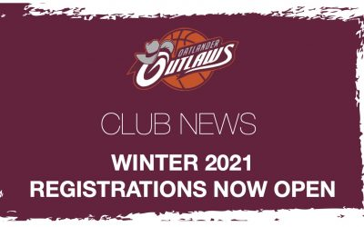 Registrations for Winter 2021