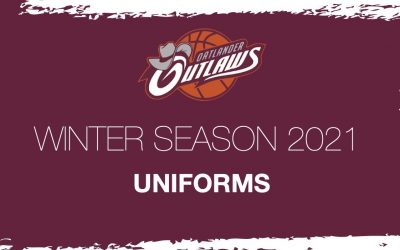 Uniforms for Winter 2021 Season